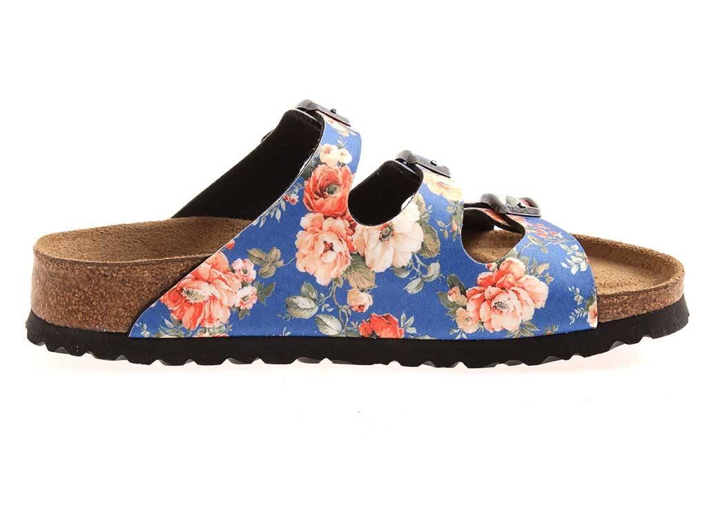 Papillio-Florida-Pantolette-Sandalen-Classic-Hausschuhe-schmal-Birko-Flor