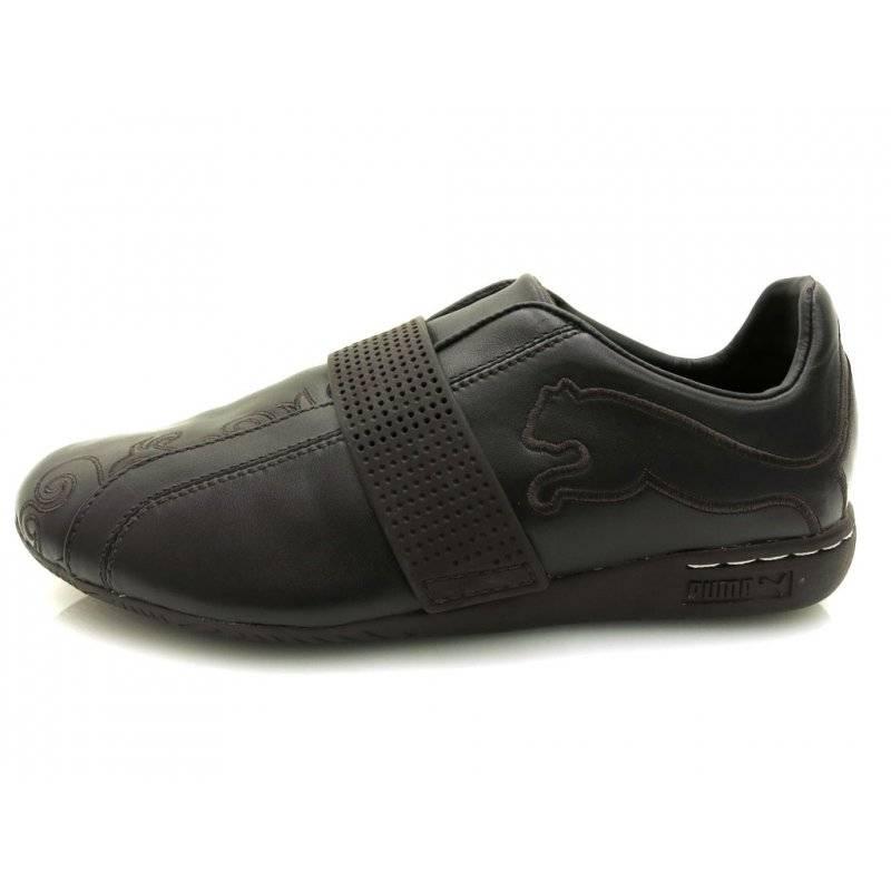 40aefa9159 Puma deportiva de Mujer Calzado Zapatillas Cuero Zapatos marrón 4910 ...