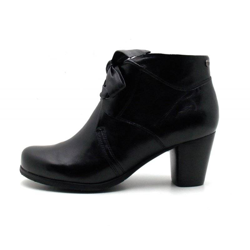 Details about Tamaris 1 25139 Women's Boots Leather Shoes Leather Ankle Boot Black